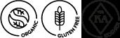Organic, Gluten Free & Kosher